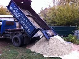 Песок речной, доставка песка