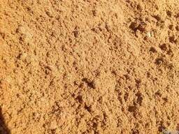 Песок плотный природный мытый