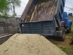 Песок речной, машина песка