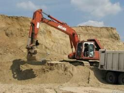 Песок речной от 60грн с доставкой