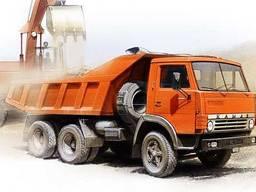 Песок речной с доставкой по Киеву