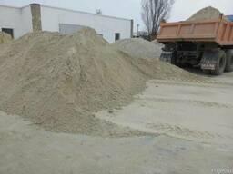Песок, Щебень, Цемент, Отсев, Тырса, Бут, Кирпич, Камень.