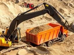Песок строительный, для раствора, бетона и подсыпок и пр.