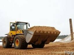 Песок строительный(доставка в течение 3-х часов)