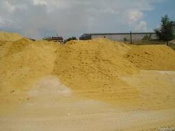 Песок строительный морской, речной, горный. Доставка.
