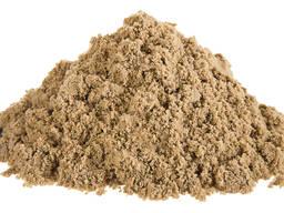 Песок строительный - оптовые поставки автом. транспортом