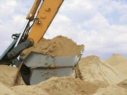 Песок кварцевый карьерный в Мариуполе и Донецкой области