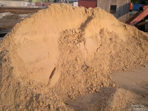 Песок, тырса, мытый песок по безналу Севастополь