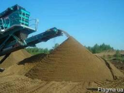 Песок Беляевский, сеяный