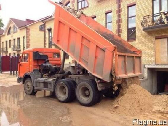 Песок в Днепре. Доставка от 5 до 30 тонн.
