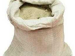Песок в мешках (30кг) и насыпом