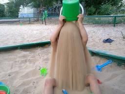 Песок в песочницу