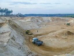 Песок Вознесенский белый крупнозернистый