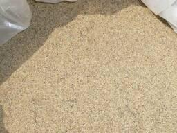Песок всех видов, сеяный и не сеяный: