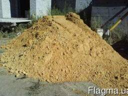Песок (желтый, белый, резак) Сумы с доставкой. Щебень