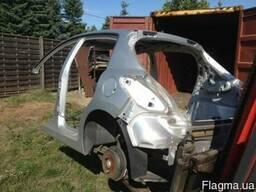 Peugeot 207 2006-2012 Четверть, Задня частина машины разборка