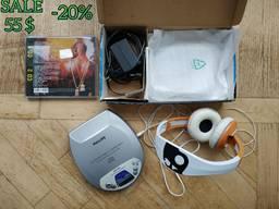 Philips/CD/Плеер/MP3/Наушники/Навушники/Проигрыватель/Музика/ДискПлеєр