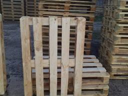 Піддон дерев'яний 1200х800(1000) мм, 2 сорт, новий з колоском та фітосанітарним актом