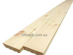 Підлога дерев'яна/Дошка підлогова 20х100х4000 мм