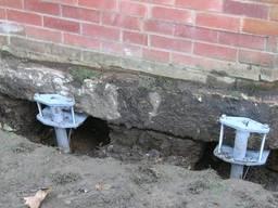 Земельні бетонні роботи і підсилення старих фундаментів