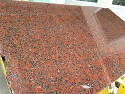 Підвіконня гранітні червоного кольору