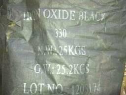 Пигмент железоокисный черный 330 для плитки и бетона