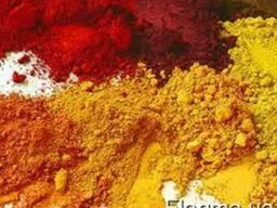 Пигмент железоокисный (красный, желтый)