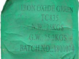 Пигмент железоокисный Tongchem ТС 1835 зелёный Китай мешок 25 кг