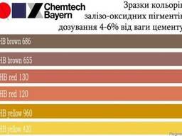 Пигменты для бетона железо-оксидные: красн. , желт. , коричн.