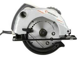 Пила дисковая 1300 Вт, 5000 об/мин, угол наклона 0-45°. ..