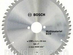 Пила дисковая по дереву Bosch 190x30x54z Multi ECO
