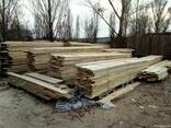 Пиломатериалы, брус, доска, дрова твердых пород, дуб, акация - фото 1