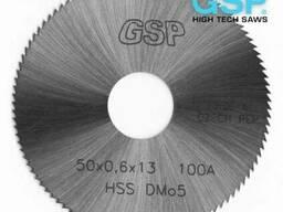 Пилы пазовые для ювелирных изделий и бижутерии GSP