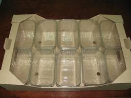 Пинетки судок лоток для ягод клубники малины черники овощей - фото 2