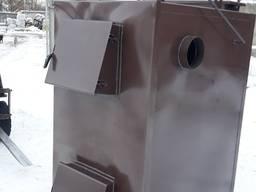 Пиролизный котел воздушного отопления мощностью 50 кВт от пр