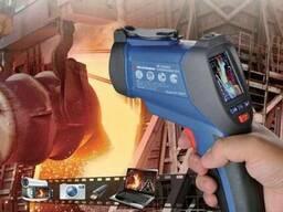 Пирометр-регистратор со встроенной камерой 50:1