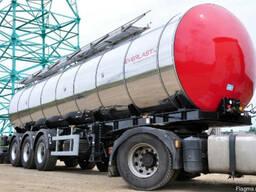 Пищевая цистерна, молоковоз, масловоз, спиртовоз, водовоз