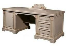 Письменный стол из массива дерева ПС-22