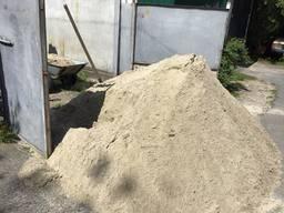 Песок, строительный песок