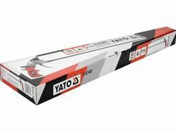 Пістолет для нанесення монтажної піни з подовженим соплом YATO 500 мм алюмінієвий