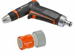 Пистолет для полива Gardena Premium + коннектор с автостопом