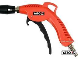 """Пістолет пневматичний продувальний YATO з турбо-соплом 45 мм 1/4"""" 0.62 МПа"""
