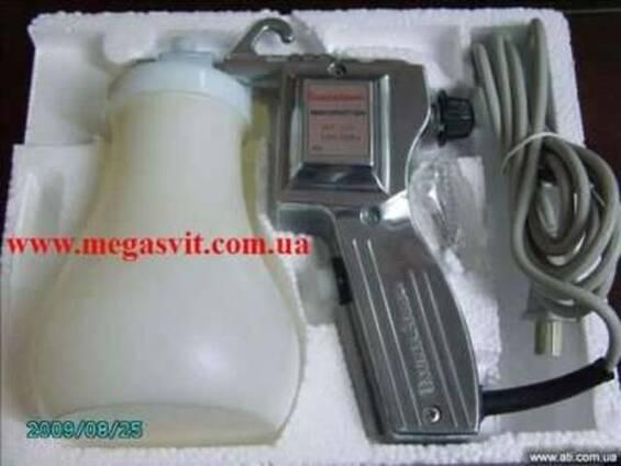 Пистолет-пульверизатор МТ 170 для чистки тканей двойного де