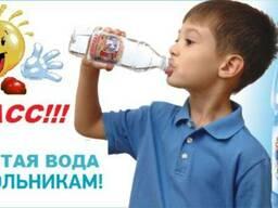 Питьевая вода для школьника