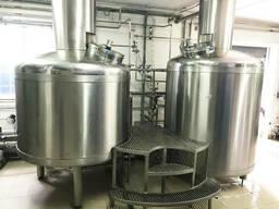 Пивоварня, пив завод, крафтовая пивоварня на 2000. ..