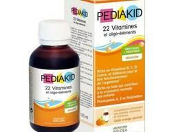 PK05 Pediakid Сироп для здорового физического развития: 22 витамина и олиго-элемента /. ..