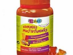 PK23 Pediakid педиакид Гаммиз Мультивитамины / Pediakid Gommes Multivitaminees, 60 мишек
