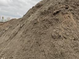 Грунт на подсыпку Суглинок, Супесь, Песок (речной, овражный)