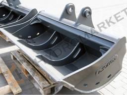 Планировочный ковш А. ТОМА на экскаватор Hyundai 210W9S