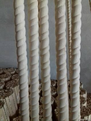 Планка дерев'яна косичка ОПТ Довжана 30см-1.9м.
